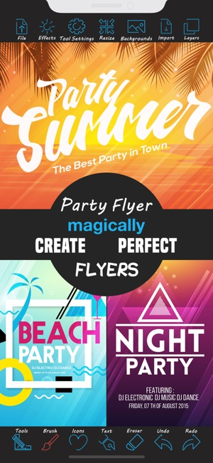 Party Flyer Creator On The App Store