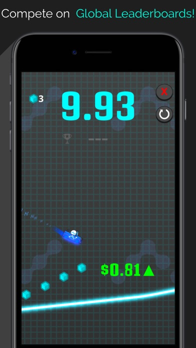 Crypto Rider - Bitcoin Racing Screenshot