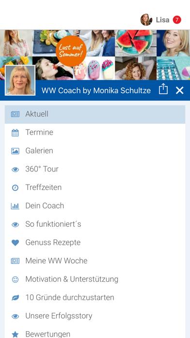 WW Coach by Monika Schultze screenshot 2