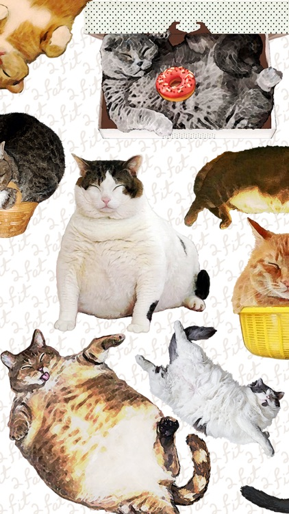 CatNap 2: Fat Cat Sticker Pack
