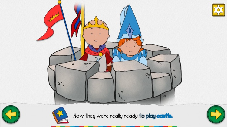 Caillou's Castle screenshot-2