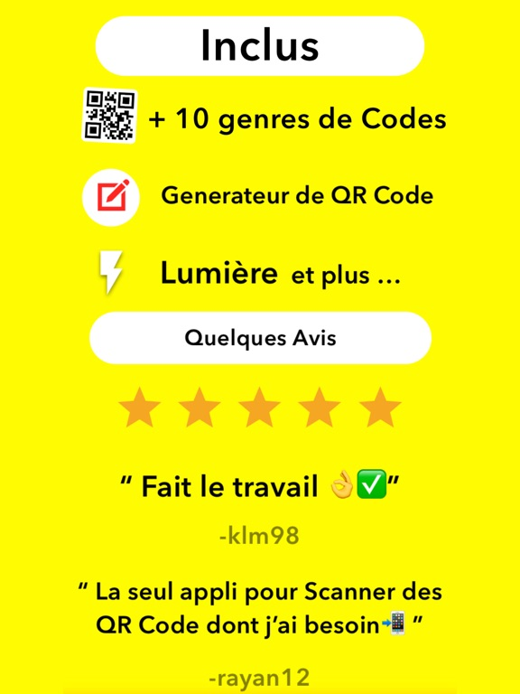 Screenshot #6 pour QR Code Scanner !