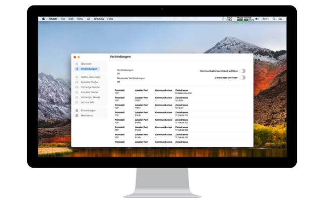 NetWorker - Netzwerkinfo App Screenshot