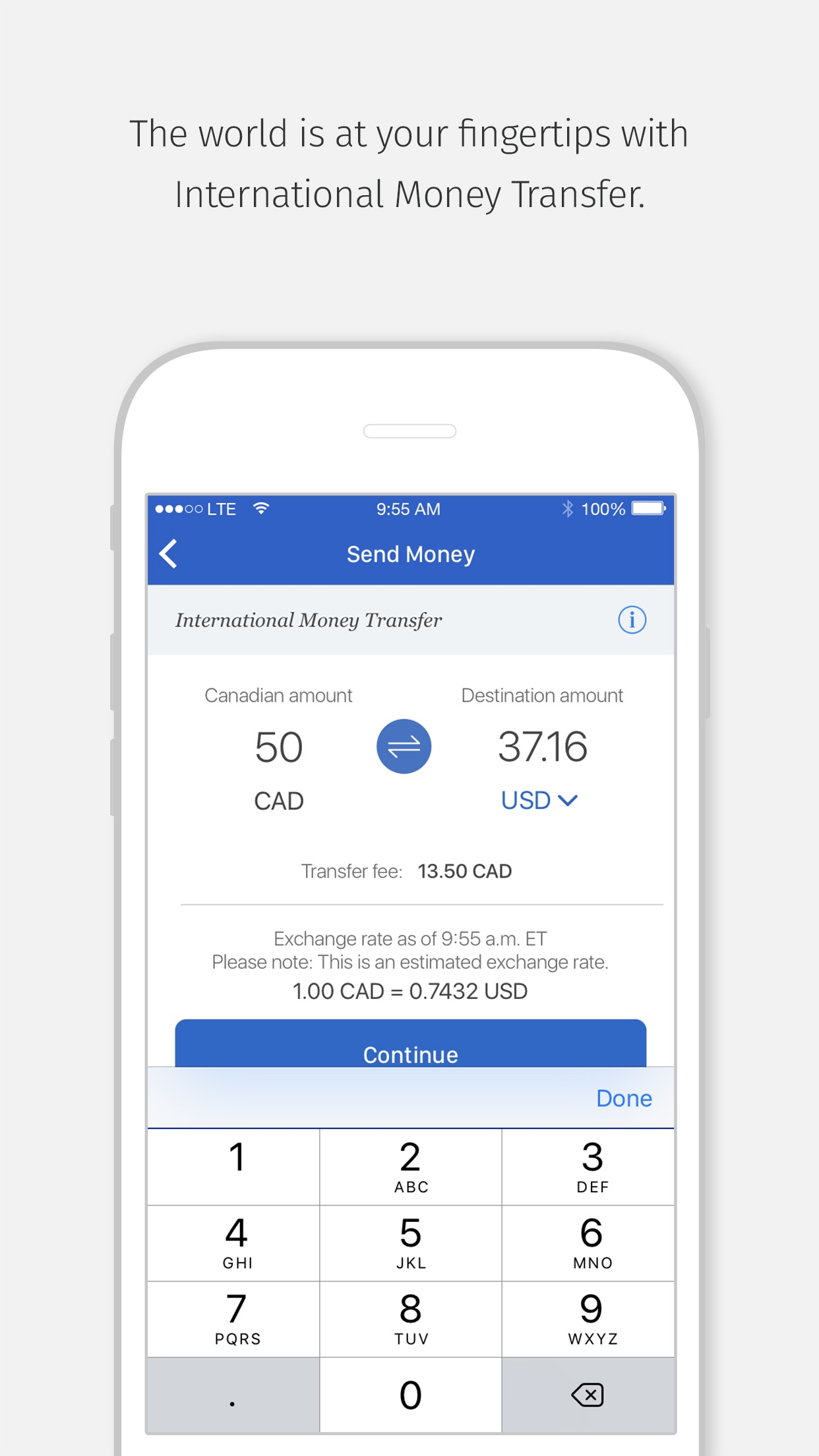 RBC Mobile Screenshot