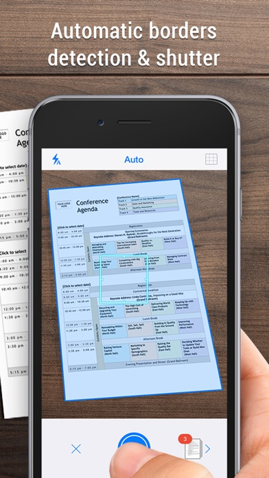 iScanner - PDF Scanner App. iPhone