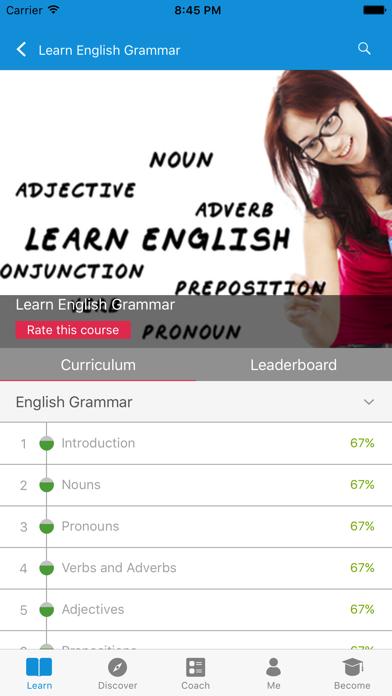 Learn English Grammar, Writing screenshot two