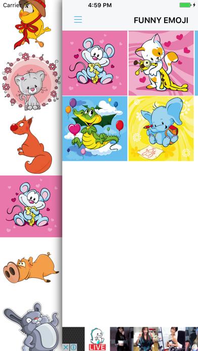 Xmas Emoji - Santa Sticker screenshot three
