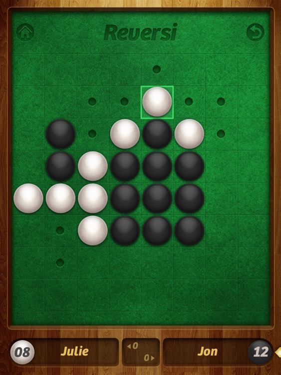 Reversi Pro HD screenshot-1