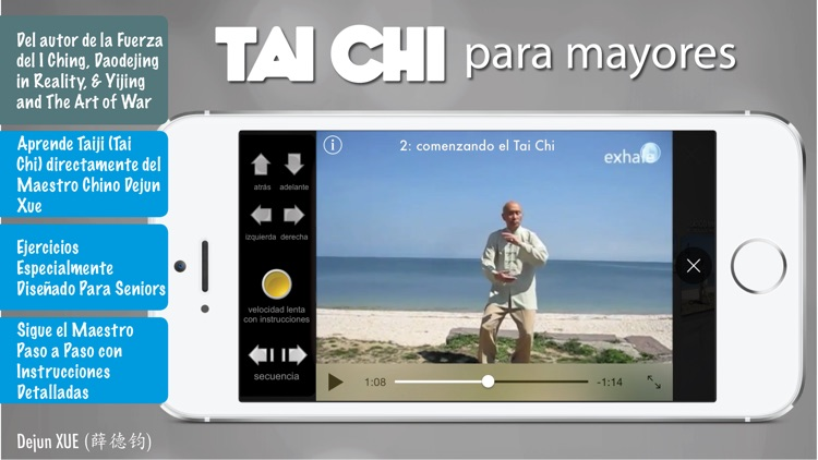 Tai Chi para Mayores Pro screenshot-0