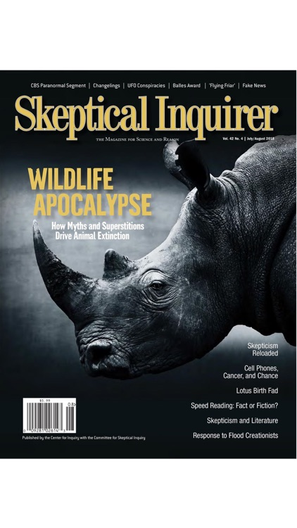 Skeptical Inquirer Magazine