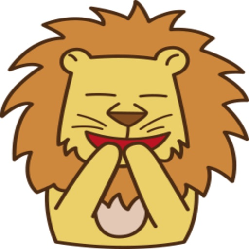 Reo - The Cute Lion stickers