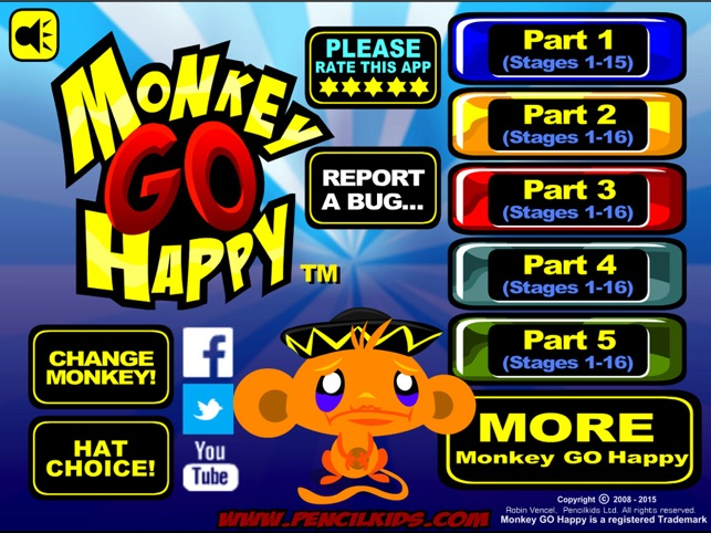 ‎Monkey GO Happy Screenshot
