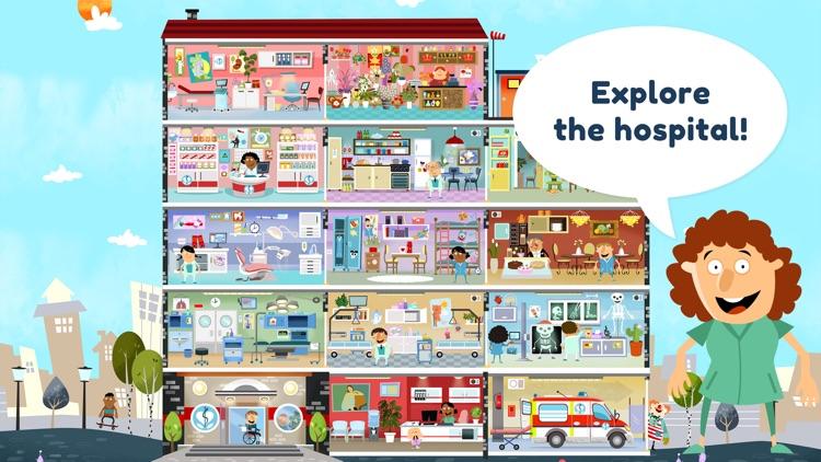 Little Hospital For Kids screenshot-0