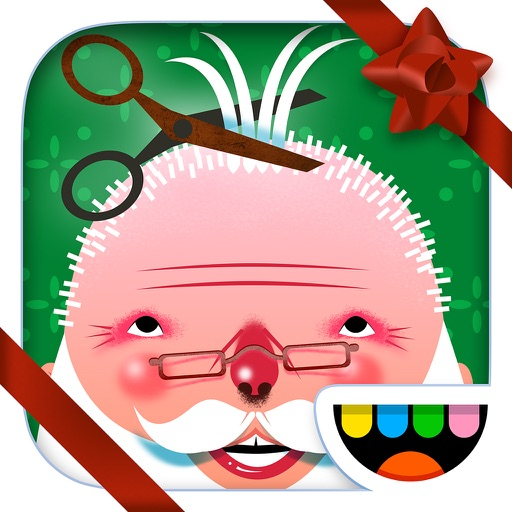 Toca Hair Salon - Christmas app logo