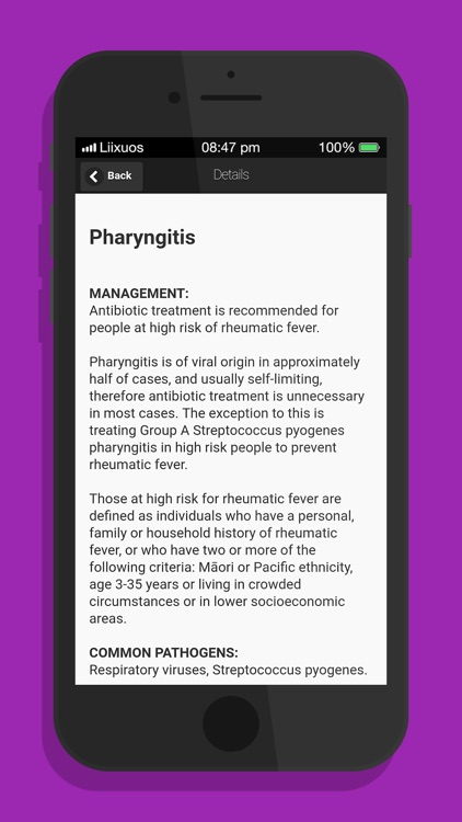 Antibiotics for common infects screenshot-3
