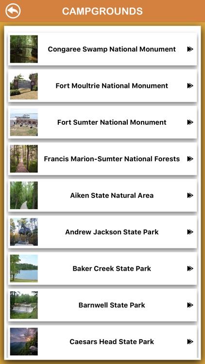 South Carolina National Parks