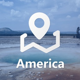 America Map (Offline)