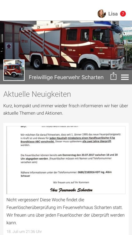 Freiwillige Feuerwehr Scharten