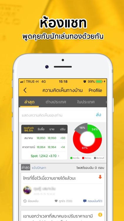 ราคาทองวันนี้ SiamGold Pro screenshot-4
