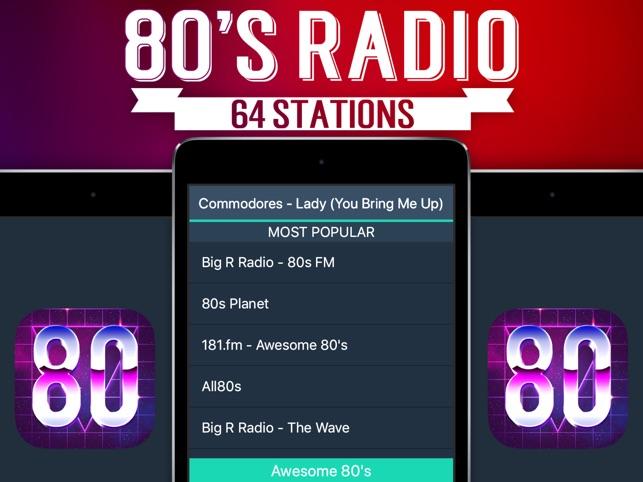 80s Radio+ on the App Store