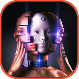 Robot Face Photo Editor