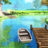 脱出ゲーム ボートのある道