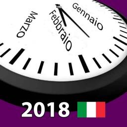 Calendario 2018 Italia