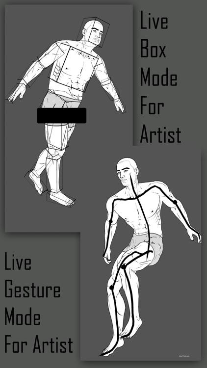 Comic Pose Tool 3D screenshot-3