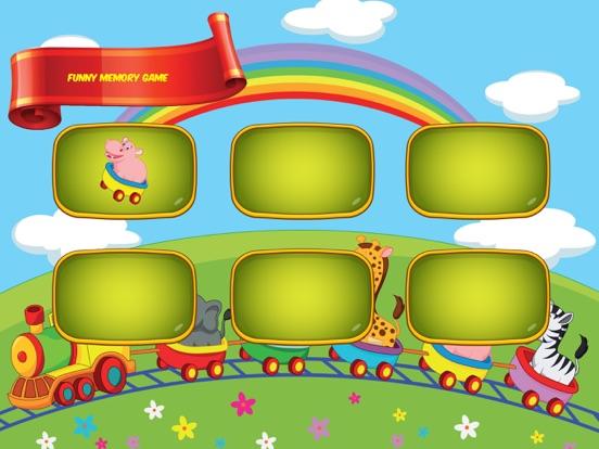 Memory Animals - Child's play для iPad