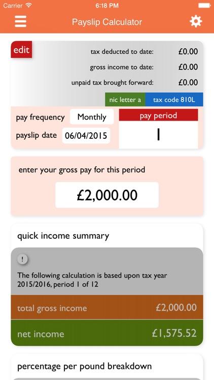 UK Tax Calculators 2019-20 screenshot-4