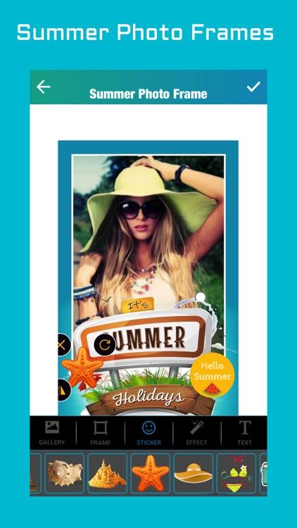 Summer Photo Frames 2018