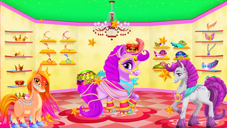 Rainbow Pony Horse Makeover