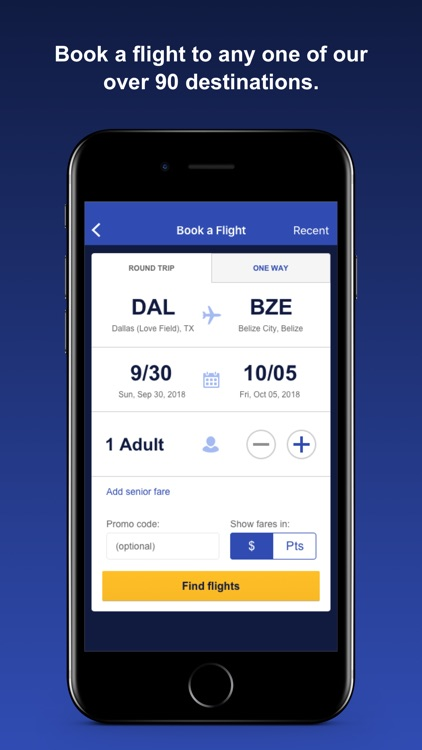 Southwest Airlines screenshot-1