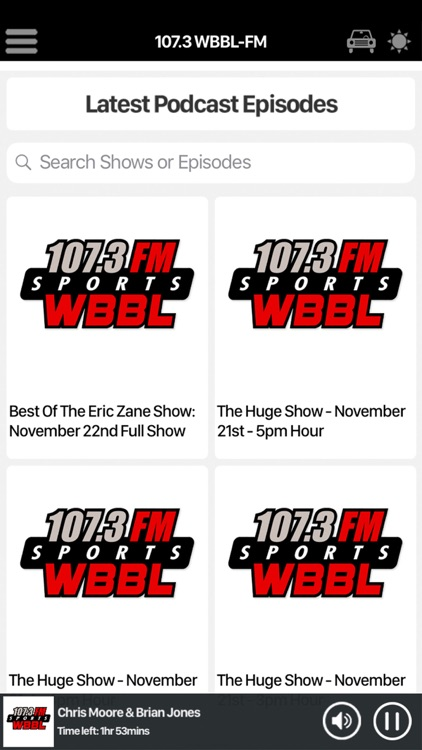 107.3 WBBL-FM screenshot-5