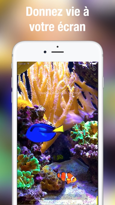 download Aquarium Fond d'écran animé apps 0