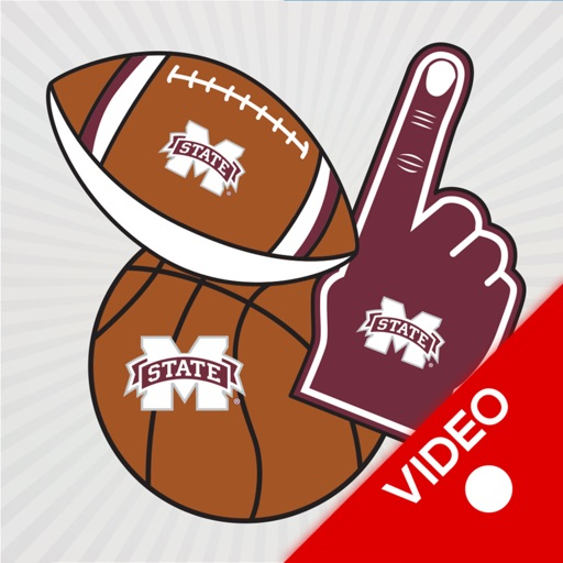 Mississippi St Bulldogs Animated Selfie Stickers