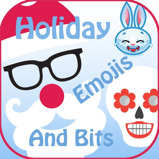 Holiday Emoji Stickers & Bits
