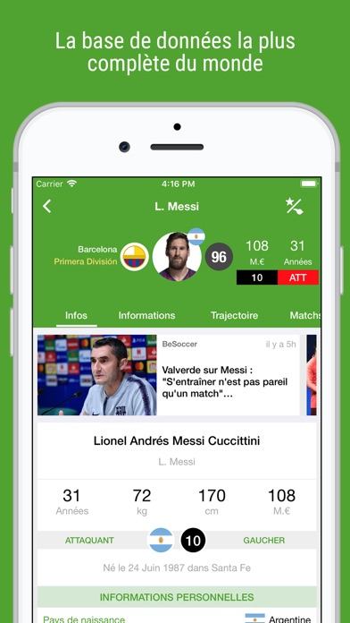 download BeSoccer Pro apps 5