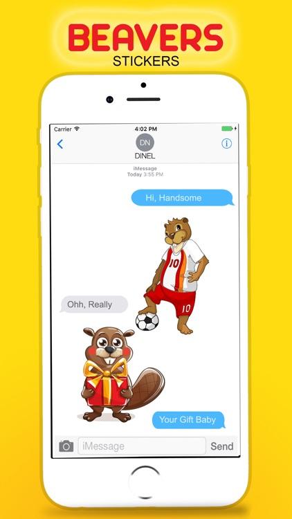 Beavers Stickers screenshot-3