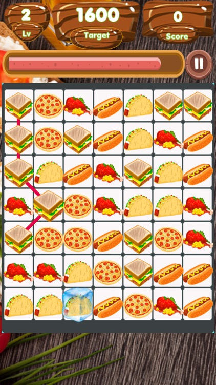 Food Match Land screenshot-3