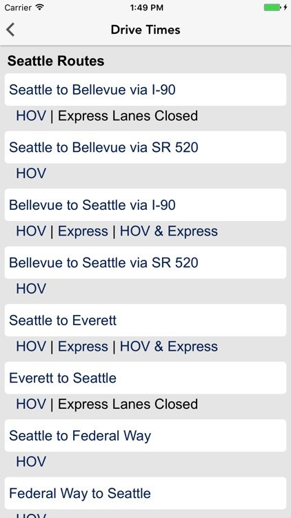 Seattle Traffic screenshot-3