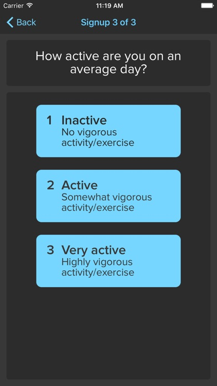 ActiveDay – Activity Study