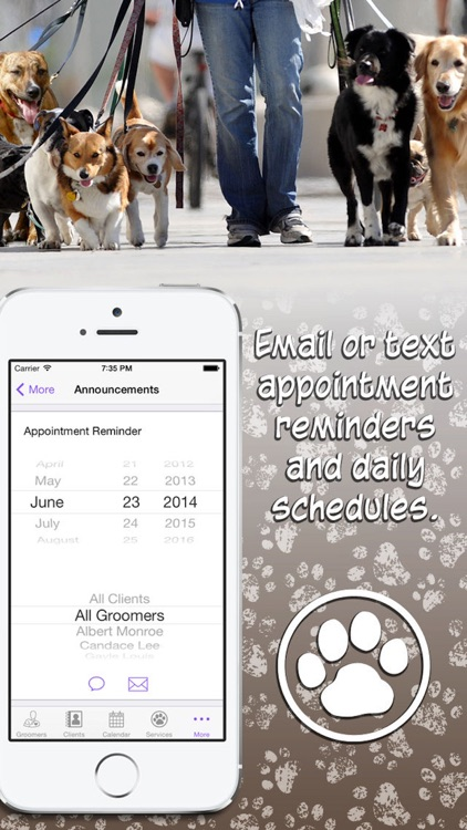 Dog Care Grooming Appointment Manager screenshot-3
