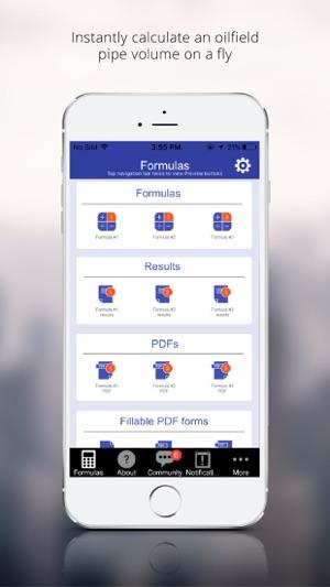 Oilfield Pipe Volume app on the App Store