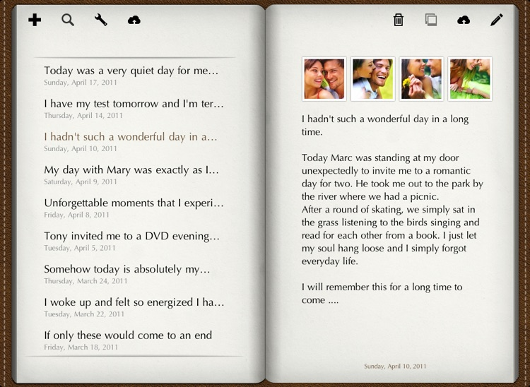 Diary for iPad screenshot-0