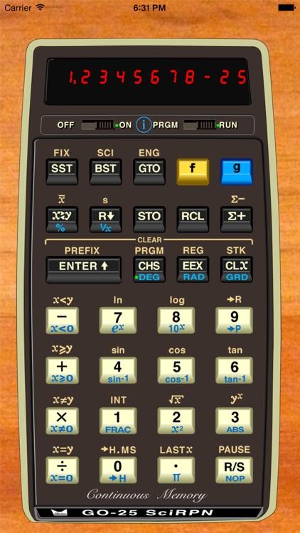 GO-25 SciRPN screenshot-0