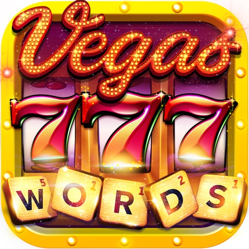 Vegas Downtown Slots & Words app logo