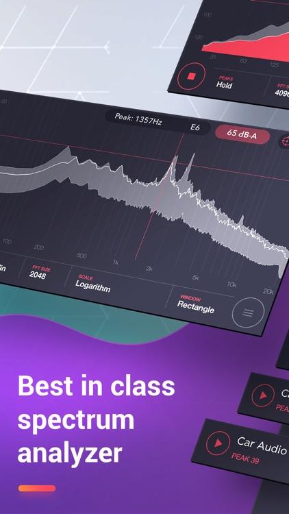 Decibel Sound Meter Pro screenshot-3