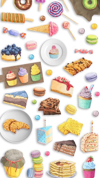 Watercolor Emoji Stickers for iMessage & WhatsApp screenshot-3