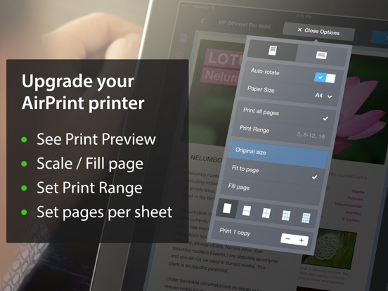 Printer Pro Screenshots
